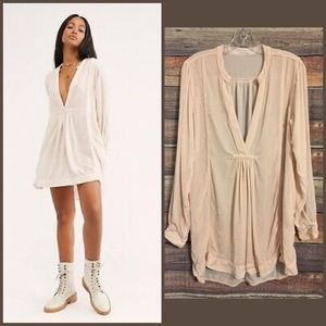 CP shades free people silk blend Jacey dress NWOT
